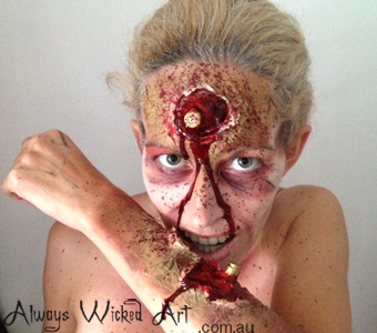 Halloween-special-effects-body-painting