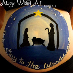 Baby_Bump_Painting_Gestational_Art