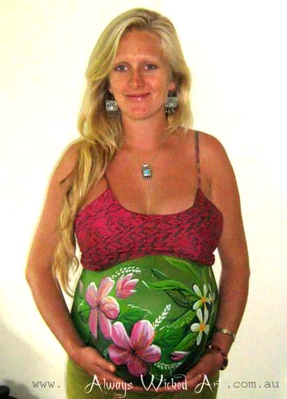 Pregnant and Pregnancy Art Gold Coast, Brisbane and Tweed Heads